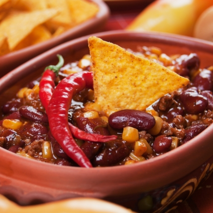 CHILE CON CARNE MODERN FOOD
