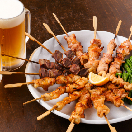 BROCHETON DE POLLO, MODERN FOOD